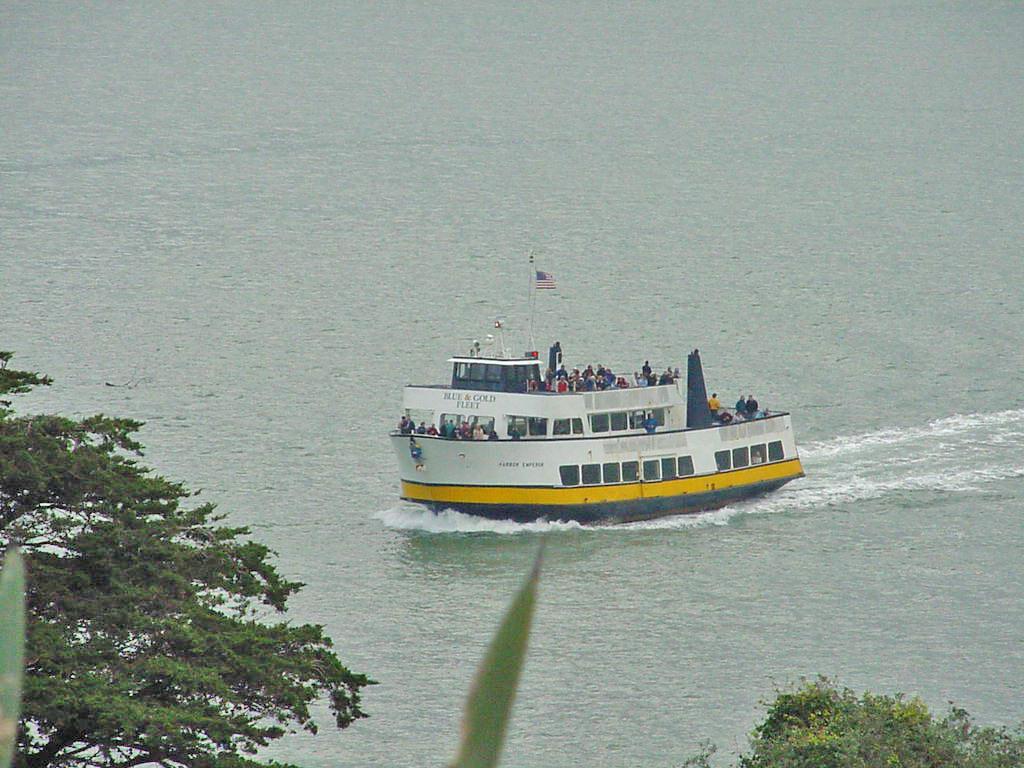 how to get to alcatraz island defiance